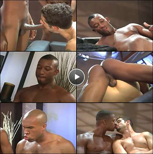 black ass orgy porn video
