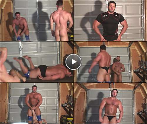 muscle ass gay porn video